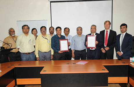 CSIR-NPL and IFR Information Dissemination Services Pvt Ltd sign MoU for time and frequency traceability services